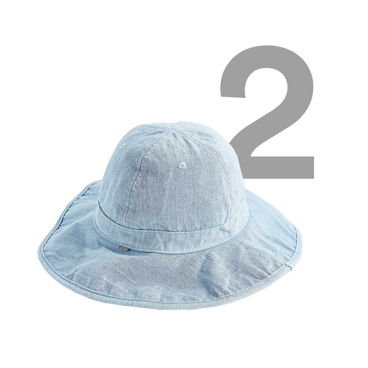 HERSCHEL SUPPLY CO. Rambler Denim Bucket Hat, available at Urban Outfitters