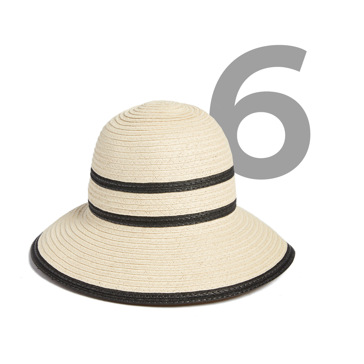 ECHO Bondi Straw Cloche Hat, available at Nordstrom